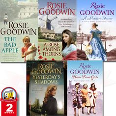 Wow very nice books collection of #RosieGoodwin .Thanks for this books collection #books #bookstore #onlinebookstore #bookstoreinuk #bookset