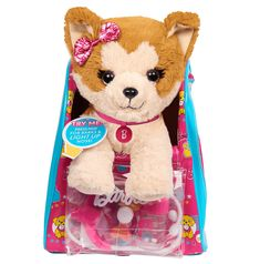 Barbie Vet Bag Set  Brown White 14 Puppy Plush with Pink Blue Backpack *** A lot more details could be found at the image url. (This is an affiliate link). #christmaswedding
