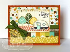 August SOTM The Great Outdoors Card by Cassie Trask #Cardmaking, #Stampofthemonth, http://tayloredexpressions.com/kits.html