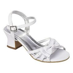 Healthtex Gt Ht Dress Sandal 16, Toddler Girl's, Size: 11, White