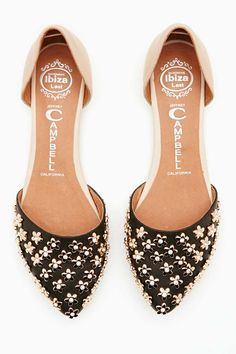 Jeffrey Campbell In Love Flat - Daisy