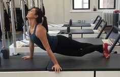 5 Pilates At-Home Exercises Borrowed from the Reformer