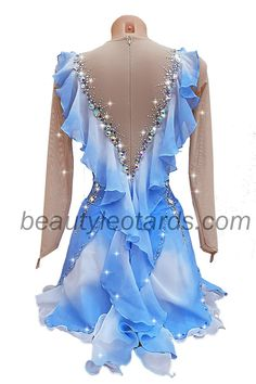 Figure Skating Competition Dresses, Figure Skating Outfits, Figure Skating Costumes, Figure Skating Dresses, Contemporary Dance Costumes, Custom Dance Costumes, Pretty Quinceanera Dresses, Salsa Dress, Cosplay Dress
