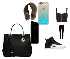 """""""gang gang"""" by pettyallthe on Polyvore featuring WearAll, River Island, Casetify and MICHAEL Michael Kors"""