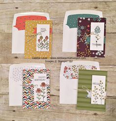 Debbie's Creative Spot: Flowering Fields Stamp Set and Wildflower Fields Designer Series Paper Card Making Inspiration, Making Ideas, Hand Stamped Cards, Stamping Up Cards, Card Sketches, Scrapbook Cards, Scrapbooking, Flower Cards, Cute Cards