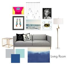 Untitled #20 by nhitasheilota on Polyvore featuring polyvore, interior, interiors, interior design, дом, home decor, interior decorating, Nate Berkus, CB2, West Elm, Universal Lighting and Decor and 1000Museums
