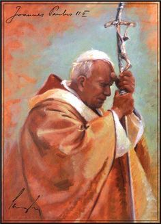 Powerful Paintings and Quotes: St. John Paul II for His Feast Day