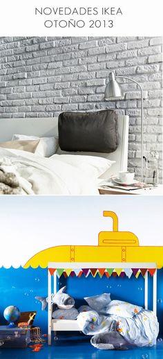 Cojín para cabecero y cama niños con dosel  Novedades Ikea Otoño 2013 : x4duros.com #ikea