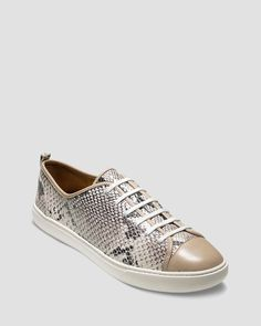 4c77d7227f0 Cole Haan Sneakers - Snake Print Laceup Shoes - Sneakers - Bloomingdale s