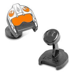 Star Wars: Fighter Pilot Helmet Cufflinks