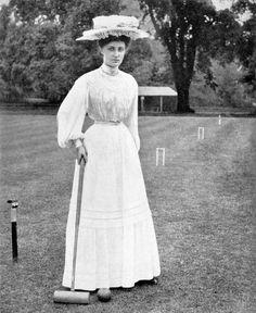 Campeã de críquete em 1906