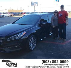 https://flic.kr/p/FT59Du | #HappyBirthday to Rachell and Mark from Jane Smallwood at Texoma Hyundai! | deliverymaxx.com/DealerReviews.aspx?DealerCode=L967