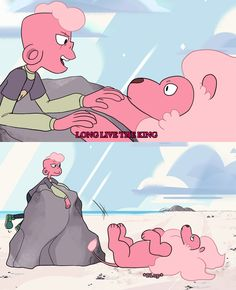 """""""Here a Steven Universe + Lion King Crossover. I couldn't help it."""""""