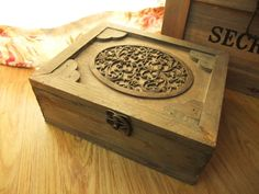 Chinese Style Wooden Box