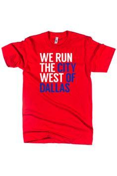 We Run the City West of Dallas #bullzerk #arlington #texasrangers