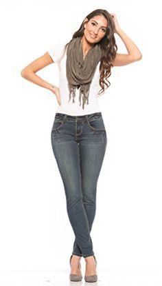 Rubberband Stretch Women's Skinny Jeans (Sarina/Onyx) - S... https://www.amazon.com/dp/B01AVCU0V0/ref=cm_sw_r_pi_dp_WBPDxbN8NPYVW