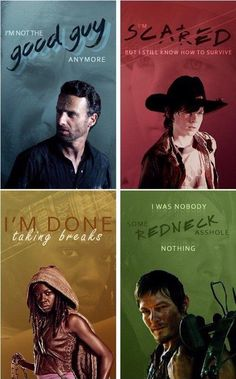 The Walking Dead Quotes! Walking Dead Funny, Walking Dead Zombies, Carl The Walking Dead, Walking Dead Quotes, Walking Dead Show, Walking Dead Season 4, Chandler Riggs, Carl Grimes, Judith Grimes