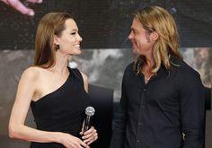 Angelina Jolie & Brad Pitt #bradgelina #brangelina