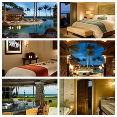 Koa Kea at Poipu Beach in Kauai, Hawaii is another bucket list destination. It's a luxurious resort and you can bet I'd be the first to sign up for that hot stone massage. When does the plane leave?