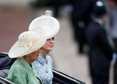 Catherine, Duchess of Cambridge attend Trooping the Colour 2015