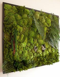 DIY Vertical Garden Design Ideas For Your Home Ladder vertical garden . the excellent Do It Yourself job for anybody with a small yard yet who still intends to garden.Vertical horticulture isn't really only efficient its likewise beautifulLike Vertical Garden Design, Vertical Gardens, Vertical Planting, Garden Ideas To Make, Moss Art, Moss Wall Art, Walled Garden, Plantation, Plant Wall