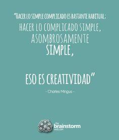 Eso es creatividad