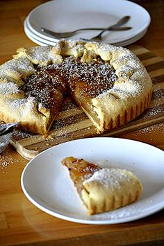 Strawberry Recipes, Apple Recipes, Sweet Recipes, Baking Recipes, Cookie Recipes, Bosnian Recipes, Croatian Recipes, Torta Recipe, Sweet Cafe
