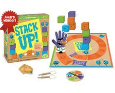 Stack Up Cooperative Board Game