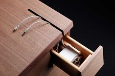 Details we like / Cable management / Drawer / Wood / Desk / Furniture / at plllus
