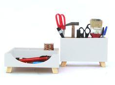 13 best wooden desk organizer images woodworking productivity rh pinterest com