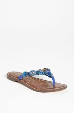 Sam Edelman 'Gracelyn' Sandal...I got the last pair of Mojito Suede in my size at Nordstrom.