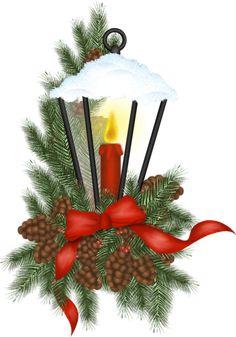 CHRISTMAS LANTERN CLIP ART