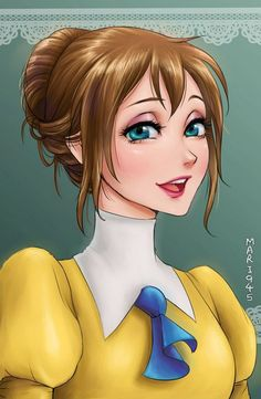 Les princesses Disney version manga : Jane