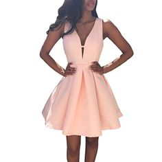 Simple Prom Dresses, new arrival pink homecoming dress satin short prom dress , From petite prom dress styles to plus size prom dresses, short dress to long dresses and more,all of the 2020 prom dresses styles you could possibly want! Dresses For Teens, Sexy Dresses, Short Dresses, Prom Dresses, Dress Prom, Fashion Dresses, Dress Outfits, Gown Dress, Fashion Shirts
