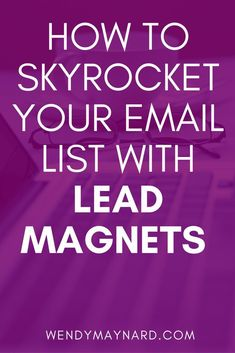 Looking for some great lead magnet ideas? Check out this list of 50 types of lead magnets to build an email list.