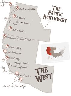 The Ultimate West Coast road trip.