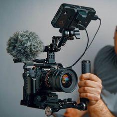 Building the Ultimate Handheld Camera Rig in 2019 Building the Ultimate Handhel. Big Camera, Camera Rig, Sony Camera, Camera Gear, Camera Straps, Canon Camera Tips, Nikon Camera Lenses, Camera Hacks, Home Theater