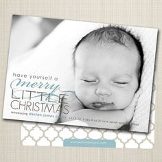Epic 21 Birth Announcement Christmas Card https://mybabydoo.com/2017/11/24/21-birth-announcement-christmas-card/ Picture or no picture, you're guaranteed to wind up with a card you adore. Only a couple of hours later my cards now are literally in the mail. Our se...