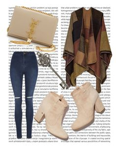 """""""Untitled #1"""" by belma-nadina ❤ liked on Polyvore featuring George, Laurence Dacade and Yves Saint Laurent"""