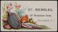 Trade card for St. Nicholas, sewing machines, No. 197 Westminster Street, Providence, Rhode Island, undated | Historic New England