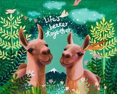 llama - better together