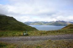 Biked up to the WWII bunkers on Amaknak Island Alaska. Just past this point the road became unmanageable for 16 inch wheels. #bikefriday #unalaska #mtballyhoo #amaknak #dutchharbor #alaska