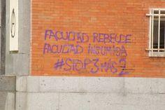 Facultad de Filosofía y Filología. Fachada norte. Ciudad Universitaria. Campus Moncloa. Madrid. 2015