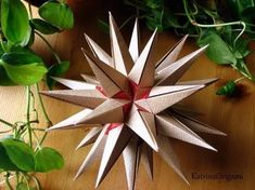 Visit the webpage to read more on Origami Instructions Origami Yoda, Origami Ball, Origami Dragon, Origami Fish, 3d Origami, Origami Paper, Paper Folding Crafts, Paper Crafts, Star Diy