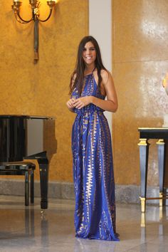BLUE DRESS http://www.thefrenchfries.pt/2014/10/blue-dress.html at Almada Negreiros Lounge