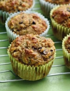 Weight Watchers Oat Banana Nut Muffins Sweetened with Honey and Ripe Bananas and Oats... These are Awesome !!!!!   4 WW Points and 170 calories