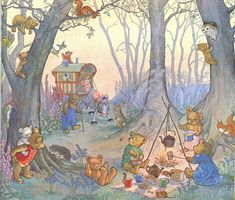 molly brett, teddy bears picnic