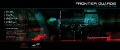 Dizajn pre hudobne CD elektronickej skupiny FRONTIER GUARDS