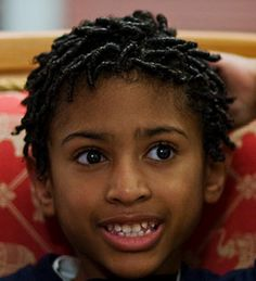 Coils / Locs Hairstyle for Kids