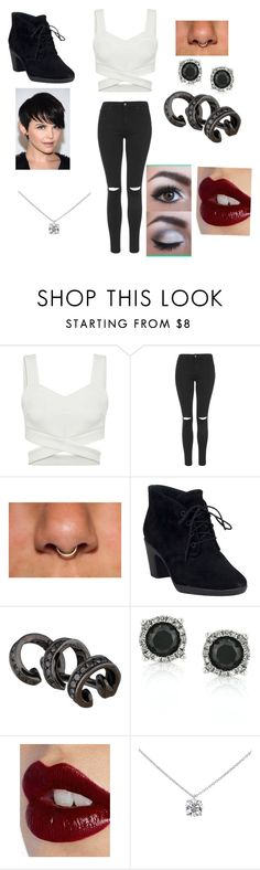"""""""Comfy party """" by damayo ❤ liked on Polyvore featuring Topshop, Clarks, Repossi, Mark Broumand, Charlotte Tilbury and Tiffany & Co."""